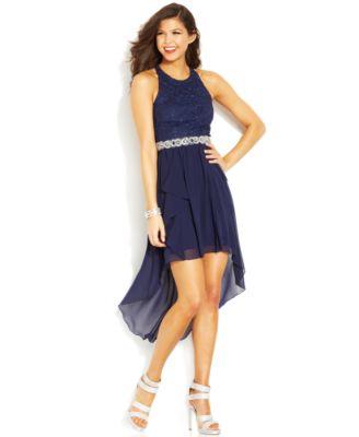 High Low Prom Dresses Macy\'s – Fashion dresses