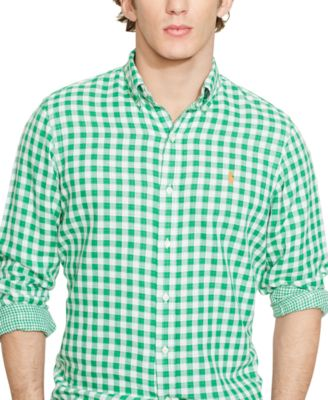 Polo Ralph Lauren Double-Faced Checked Shirt - Casual Button-Down ...
