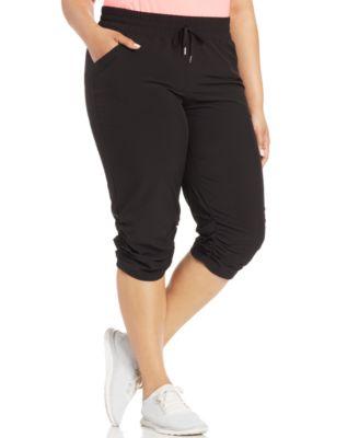 Style&co. Sport Plus Size Capri Jogger Sweatpants - Pants & Capris ...