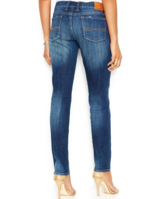 Lucky Brand Mid-Rise Charlie Skinny Jeans, Lapis Lazuli Wash ...