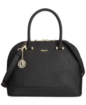 DKNY Bryant Park Round Satchel - Handbags & Accessories - Macy's