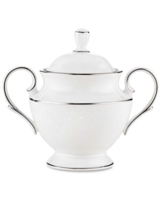 Lenox Floral Veil Sugar Bowl