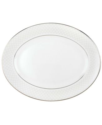 Lenox Dinnerware, Venetian Lace Medium Oval Platter