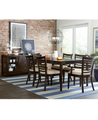 Brisbane  Piece Dining Room Furniture Set Furniture Macys - Macys dining room sets