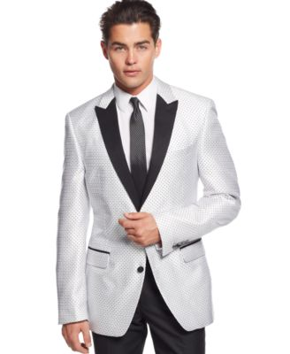 Kenneth Cole New York White Evening Slim-Fit Sport Coat - Blazers ...