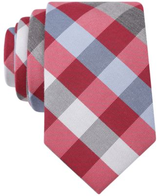 Bar Iii Carnaby Collection Castle Plaid Skinny Tie