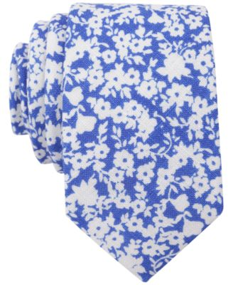Bar Iii Carnaby Collection Whitby Fl Skinny Tie