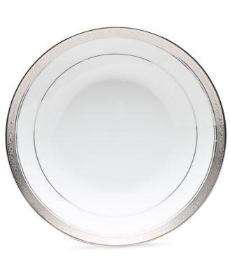Noritake Dinnerware, Crestwood Platinum Coupe Soup Bowl