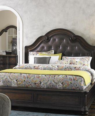 Modesto Bedroom Furniture, 3 Piece Set (California King Bed, Nightstand And  Dresser