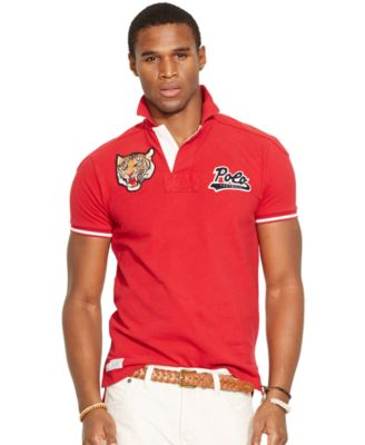 Polo Ralph Lauren Custom-Fit Tiger Polo Shirt