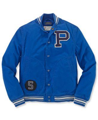 Ralph Lauren Boys' Varsity Baseball Jacket - Kids - Macy's