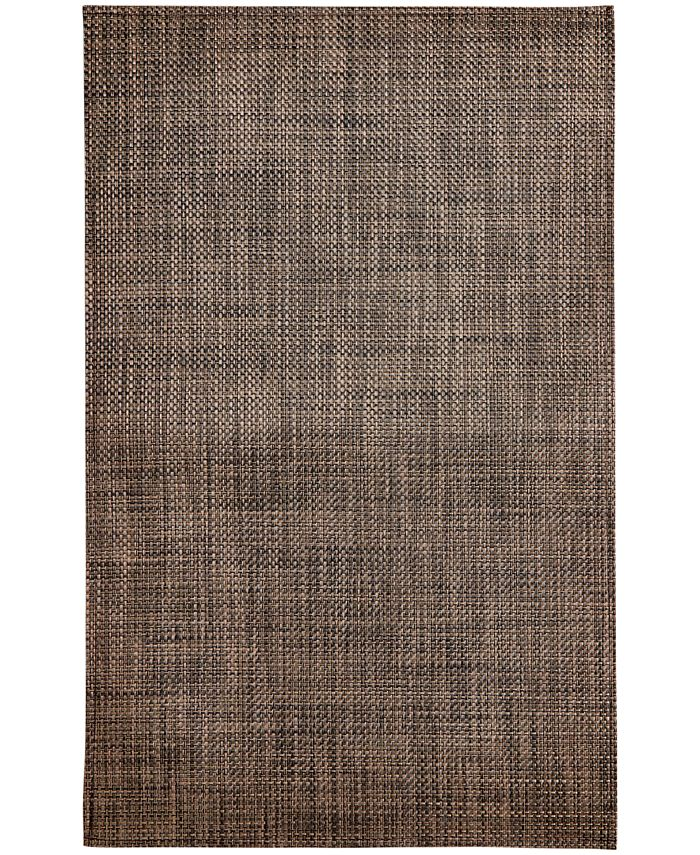 "Chilewich - Earth Basketweave Floor Mat, 46"" x 72"""