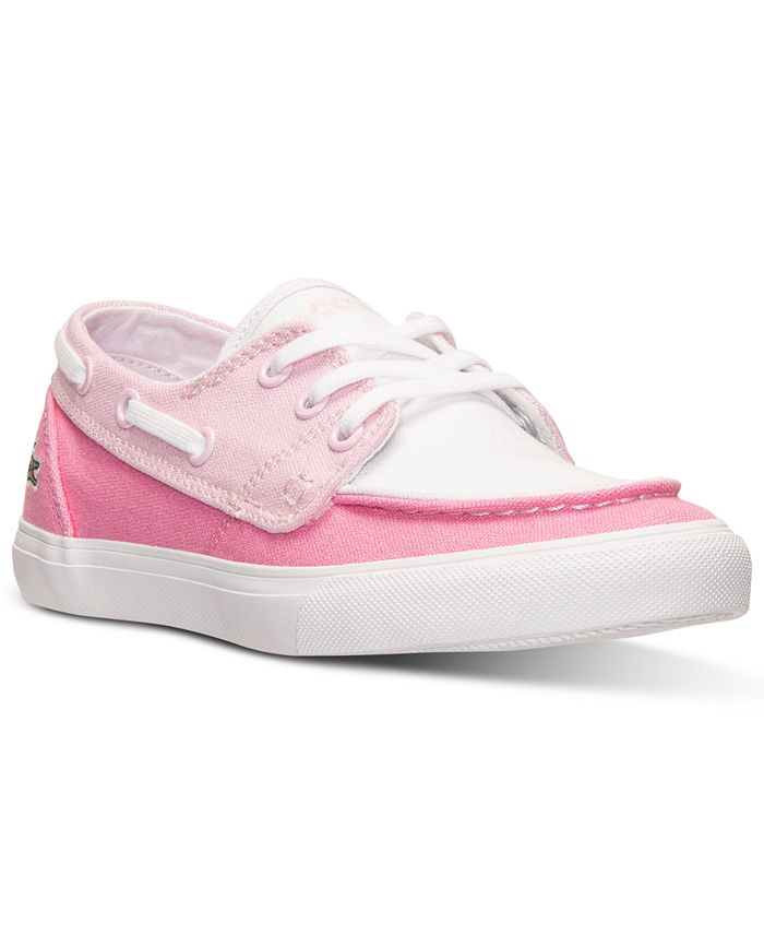 Lacoste - Little Girls' Keel CLC Casual Sneakers from Finish Line