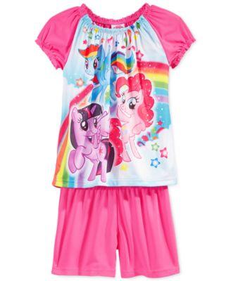 Sleep On It Girls' 2-Piece Pet Pajamas - Kids & Baby - Macy's