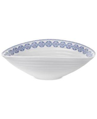 Portmeirion Sophie Conran Blue and White Medium Bowl