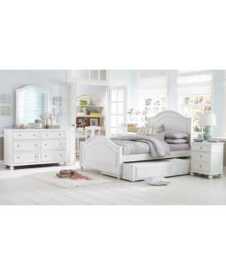 Lovely Roseville Kids Trundle Bed With Storage Drawer
