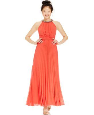 Maxi dress juniors red