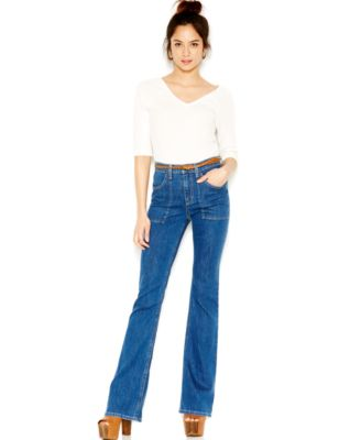 Joe's High-Waist Flare Jeans, Medium Wash - Jeans - Women - Macy's