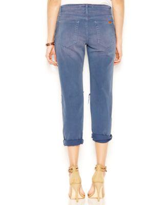 Joe's Slim-fit Distressed Boyfriend Jeans, Medium Wash - Jeans ...
