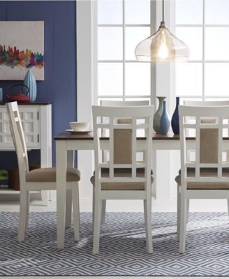 Delran White Piece Set Dining Room Furniture Set Furniture - Macys dining room sets