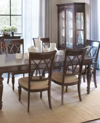 bradford 9-piece dining room furniture set - furniture - macy's
