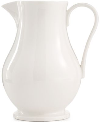 Martha Stewart Collection Whiteware Pitcher