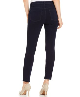 Style & Co. Petite Skinny Denim Capri Pants, Rinse Wash - Pants ...