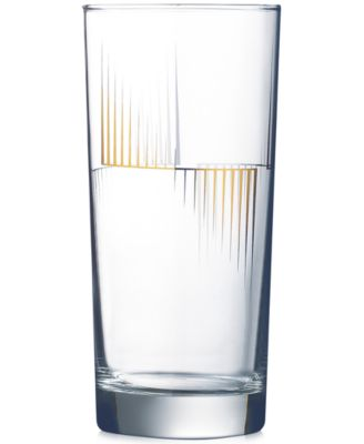 Luminarc Scala Highball Glasses, Set of 4
