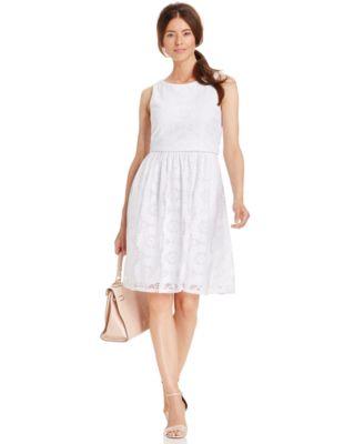 Jessica Howard White Dress