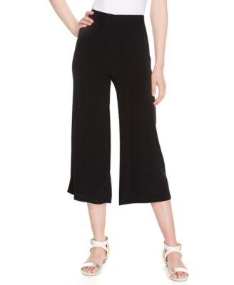 Calvin Klein Plus Size Gaucho Pants - Pants & Capris - Plus Sizes ...