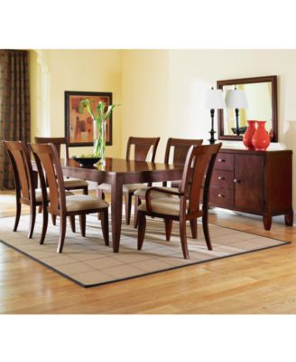 Metropolitan Contemporary 7 Piece Dining Room Furniture Set