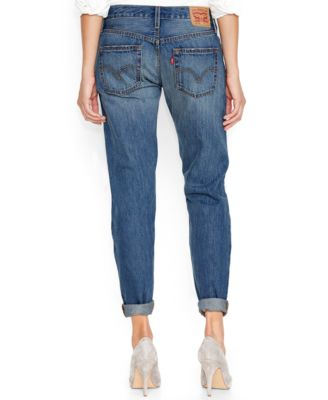 Levi's® 501 Customized Tapered Boyfriend Jeans, Surfer Girl Wash ...