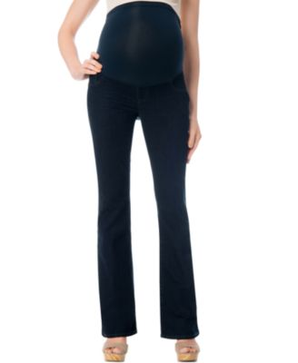 Indigo Blue Maternity Secret Fit Belly® Bootcut Jeans, Dark Wash ...