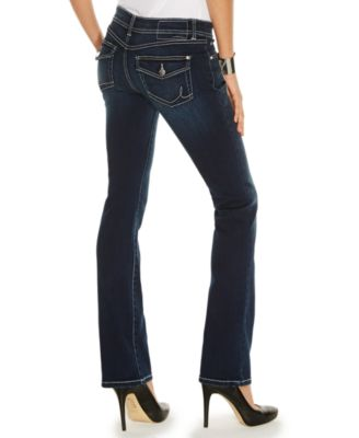 INC International Concepts Curvy-Fit Bootcut Jeans, Spirit Wash ...