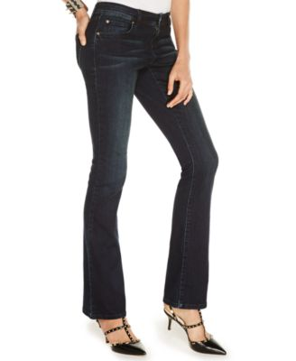 INC International Concepts Petite Curvy-Fit Bootcut Jeans, Dark ...