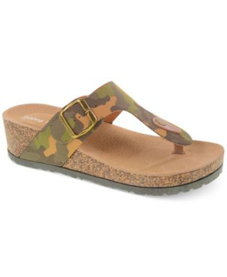 Madden Girl Boise Footbed Thong Sandals Shoes Macy S