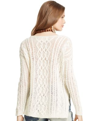 Denim & Supply Ralph Lauren Cable-Knit Sweater - Sweaters - Women ...