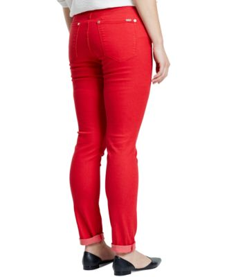 Violeta by Mango Plus Size Julie Skinny Jeans Colored Wash