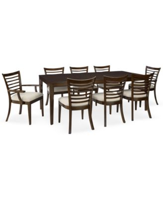bradford dining room furniture collection | Bradford 9-Piece Dining Room Furniture Set - Furniture ...