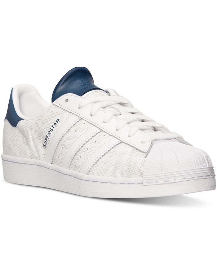 adidas - Men's Superstar LE Camo Casual Sneakers from Finish Line