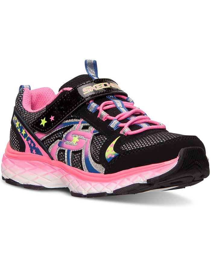 Skechers - Little Girls' Groovies Training Sneakers from Finish Line
