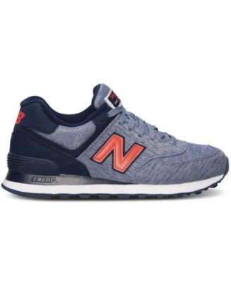 New Balance Women S 574 Sweatshirt Casual Sneakers From Finish Line