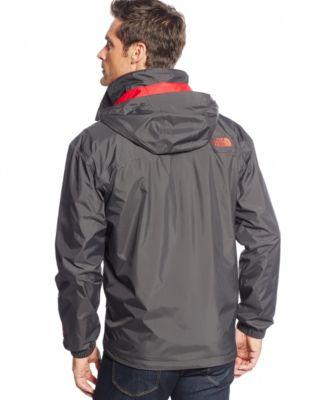 The North Face Resolve Waterproof Rain Jacket - Coats & Jackets ...