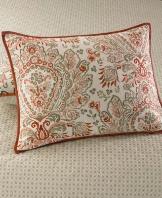 Martha Stewart Collection Watercolor Paisley King Quilt - Quilts ... : paisley king quilt - Adamdwight.com