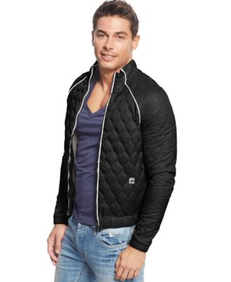 G-Star RAW Quilted Bomber Jacket - Coats & Jackets - Men - Macy's