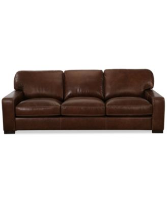 Ordinaire Valyn Leather Sofa