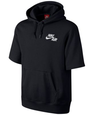 Nike Air Pivot Short-Sleeve Hoodie - Hoodies & Fleece - Men - Macy's