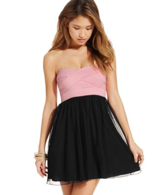 Collection Strapless Dresses For Juniors Pictures - Reikian