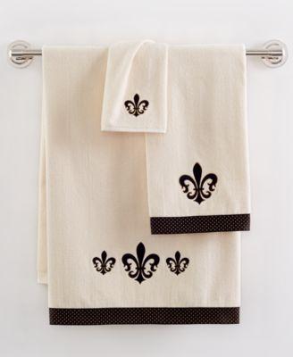 Avanti Fleur De Lis Bath Towel. Avanti  Fleur De Lis Bath Rug   Bathroom Accessories   Bed   Bath