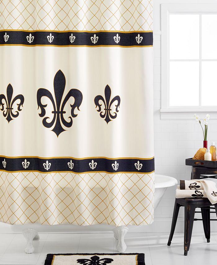 Avanti Fleur De Lis Bath Collection Reviews Bathroom Accessories Bed Macy S